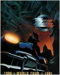 ZZ Top - Recycler World Tour 1990/1991 (Concert Programme)