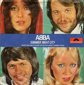 ABBA - Summer Night City / Medley: Pick A Bale Of Cotton, On Top OF Old Smokey, Midnight Special