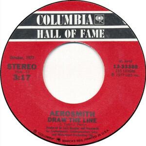 Aerosmith - Draw The Line / Chip Away The Stone