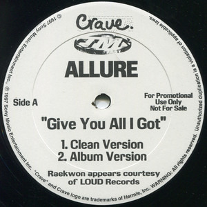 Allure - Give You All I Got