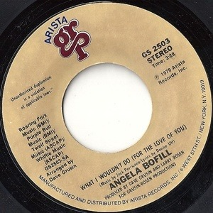 Angela Bofill - What I Wouldn't Do (For the Love Of You)
