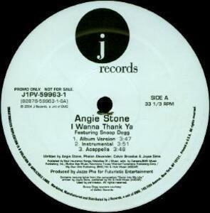 Angie Stone - I Wanna Thank Ya / My Man