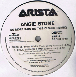 Angie Stone - No More Rain (In This Cloud) Remixes