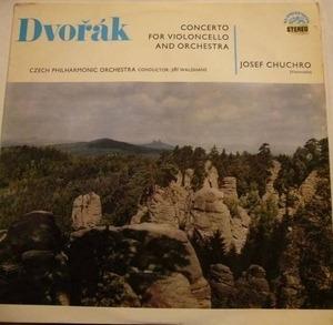 Antonin Dvorák - Concerto In B Minor For Violoncello & Orchestra  (Jiří Waldhans)
