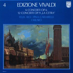 """Antonio Vivaldi - 6 Concerti Op. 6 / 12 Concerti Op. 9 """"La Cetra"""""""