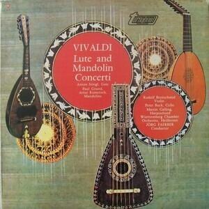 Antonio Vivaldi - Lute And Mandolin Concerti