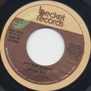 Archie Bell - Any Time Is Right