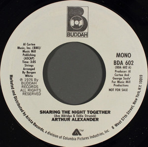 Arthur Alexander - Sharing The Night Together