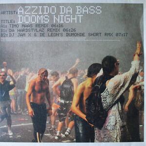Azzido Da Bass - Dooms Night