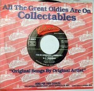 Billy Joe Thomas - Raindrops Keep Fallin' On My Head / I'm So Lonesome I Could Cry