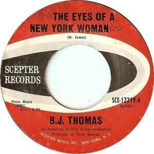 Billy Joe Thomas - The Eyes Of A New York Woman