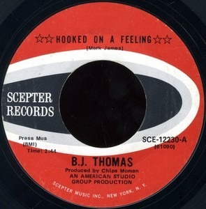 Billy Joe Thomas - Hooked On A Feeling