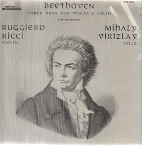 Ludwig Van Beethoven - Three Duos For Violin & Cello