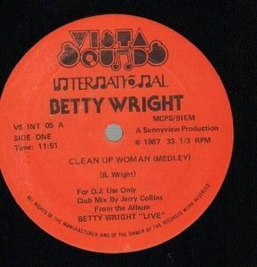 Betty Wright - Clean Up Woman (Medley) / Tonights The Night