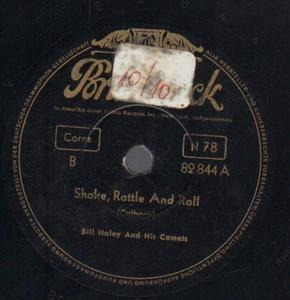 Bill Haley - Shake, Rattle And Roll / Dim' Dim The Lights