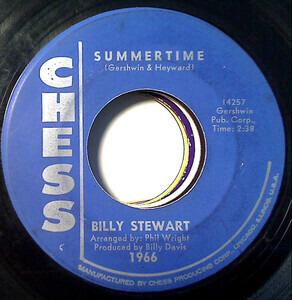 Billy Stewart - Summertime / To Love To Love