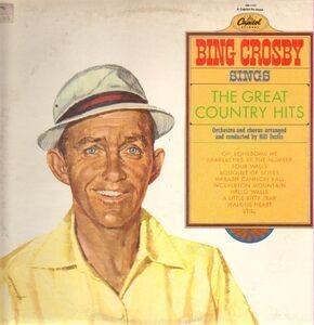 Bing Crosby - Sings the Great Country Hits