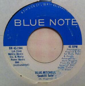 Blue Mitchell - Swahilli Suite / Collision In Black