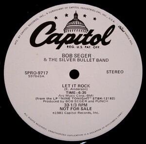 Bob Seger & the Silver Bullet Band - Let It Rock