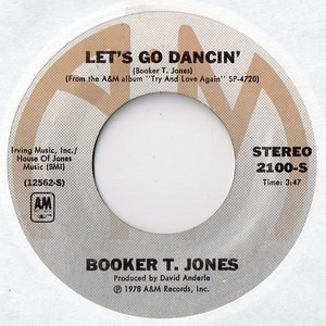 Booker T. Jones - Let's Go Dancin'