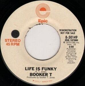 Booker T. Jones - Life Is Funky