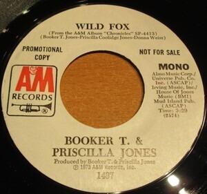 Booker T. Jones - Wild Fox