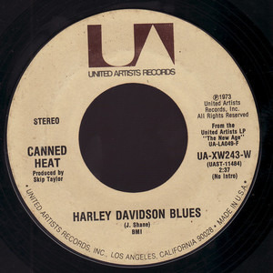 Canned Heat - Harley Davidson Blues