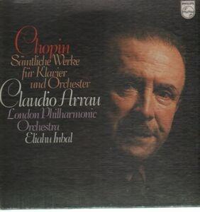 Frédéric Chopin - Sämtliche Werke für Klavier und Orch,, Arrau, London Philh Orch, Inbal