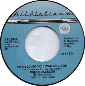 Chuck Jackson - I'm Needing You, Wanting You