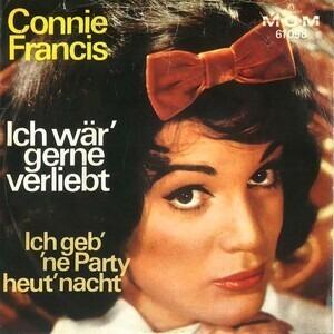 Connie Francis - Ich Wär' Gerne Verliebt