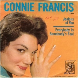 Connie Francis - Jealous Of You