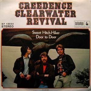 Creedence Clearwater Revival - sweet hitch-hiker / door to door