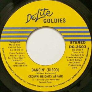 Crown Heights Affair - Dancin' (Disco)