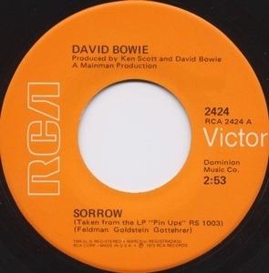 David Bowie - Sorrow / Amsterdam