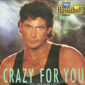 David Hasselhoff - Crazy For You (x2) (Vinyl Single)