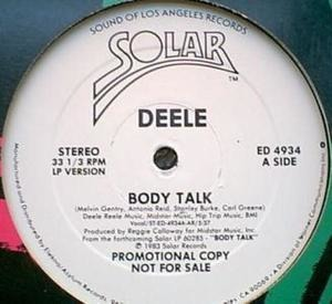 The Deele - Body Talk
