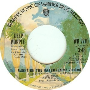 Deep Purple - Smoke On The Water (Edited Version)