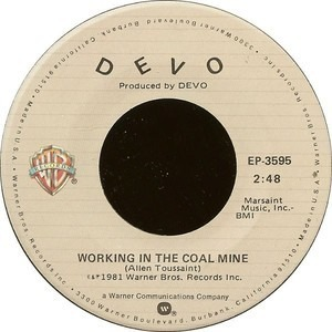 Devo - Working In The Coal Mine