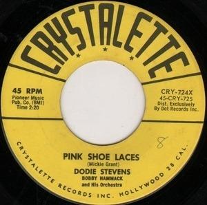 Dodie Stevens - Pink Shoe Laces