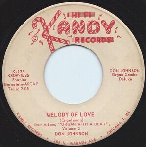Don Johnson - Melody Of Love