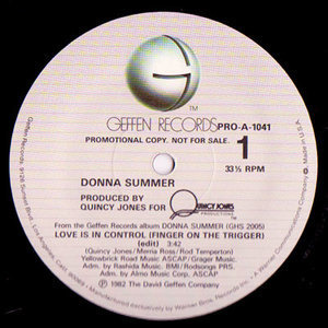 Donna Summer - Love Is In Control (Finger On The Trigger)