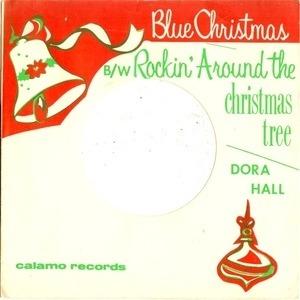 Rockin Around The Christmas Tree.Blue Christmas Rockin Around The Christmas Tree