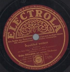 Duke Ellington - Troubled Waters / Solitude