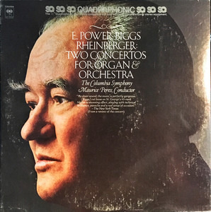 E. Power Biggs - Two Concertos For Organ & Orchestra