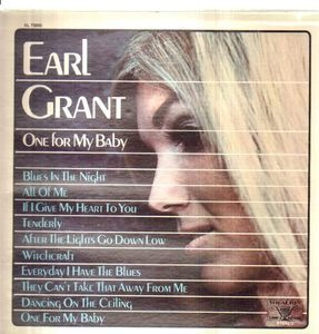 Earl Grant - One For My Baby
