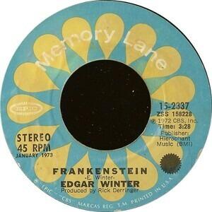 Edgar Winter - Frankenstein / Free Ride