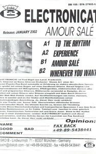 ElectroniCAT - Amour Sale
