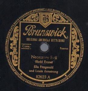 Ella Fitzgerald - Necessary Evil / Oops