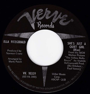 Ella Fitzgerald - She's Just A Quiet Girl (Mae)/We Three (My Echo, My Shadow And Me)