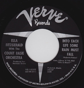 Ella Fitzgerald - Into Each Life Some Rain Must Fall / Shiny Stockings